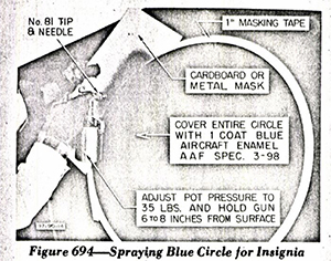 P-51 B&C Structural Repair Instructions: Finish Specifications Section 11 - Figure 694