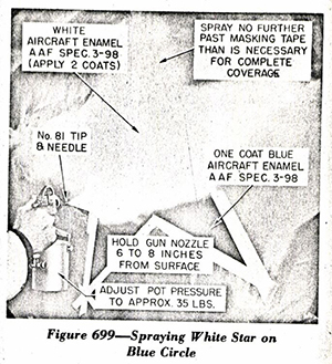 P-51 B&C Structural Repair Instructions: Finish Specifications Section 11 - Figure 699